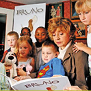 Prunella Scales reads Bruno